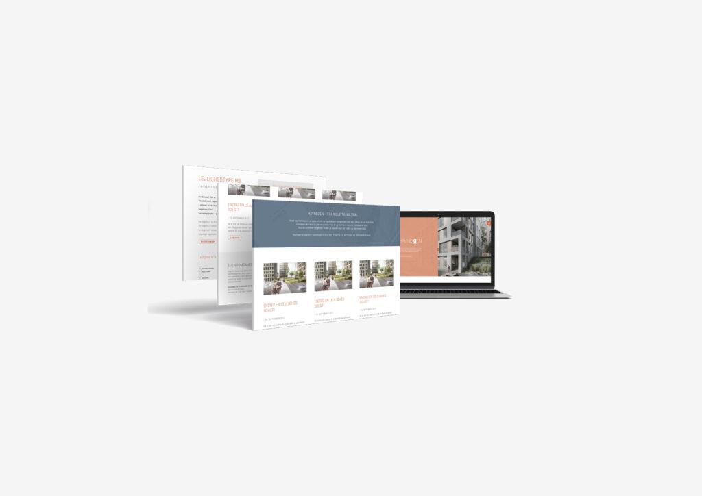 Online + UX design